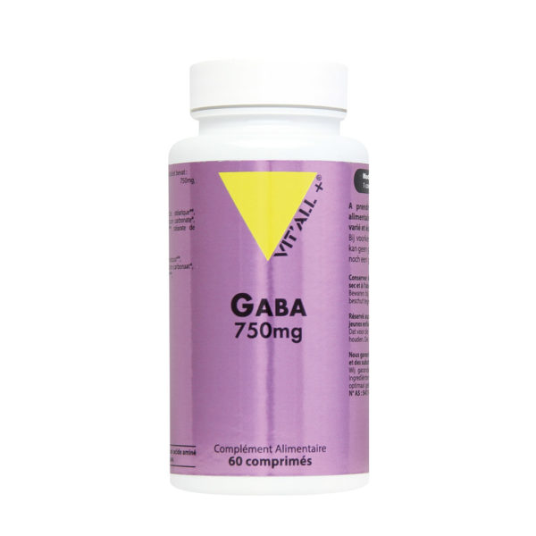 Gaba 750mg VIT'ALL+