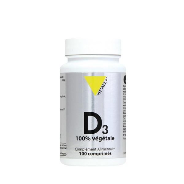 Vitamine D3 Végétale VIT'ALL+